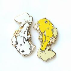 Koi Pin by Once Upon a Pin