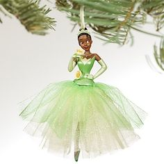 New 2011 Disney Store Tiana Princess and The Frog Ornament | eBay