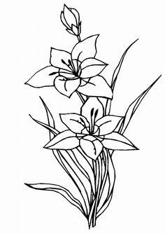 virág rajzok - Google Search