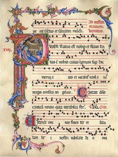 Discover recipes, home ideas, style inspiration and other ideas to try. Medieval Music, Medieval Books, Medieval Art, Music Manuscript, Medieval Manuscript, Illuminated Letters, Illuminated Manuscript, Illumination Art, Book Of Kells