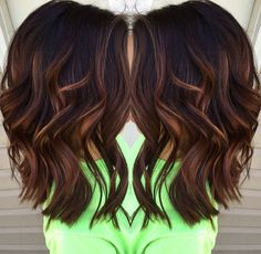 Best Caramel Balayage On Dark Brown Hair