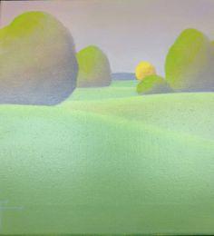 """Green Gold I""  Shirley Findsen"
