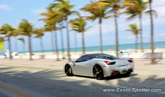 ferrari italia in fort lauderdale | Ferrari 458 Italia spotted in Ft Lauderdale, Florida on 04/01/2013 ...