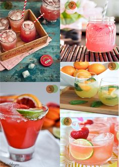 Cheers to the weekend! Fun spring cocktails to try!