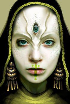 green eyes by *Sunamori