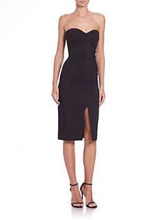 La Petite Robe di Chiara Boni - Strapless Cocktail Dress $ 750.00