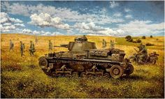 Military Diorama, Military Art, Tank Warfare, Operation Barbarossa, Ww2 Pictures, War Thunder, Ww2 Tanks, German Army, World War Ii