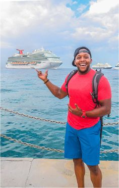 Experience a 6-day Caribbean cruise aboard the Carnival Breeze. In part 1 of his adventure, @fitmencook worked out at the Cloud 9 Spa, and enjoyed some sushi at Bonsai.