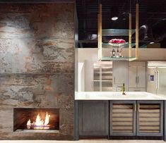 Dn Trilium Creates A Jaw Dropping Spectacle In This Kitchen And Living E By The Bio