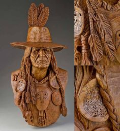 Carving by Vic Hood