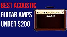 Subscribe : https://www.youtube.com/channel/UCIe1lS6aIsiC17vMRro1r1g Best Acoustic Guitar Amps under $200 (2017) | #GuitarAmps #Amp 1. Peavey