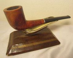 Vintage Parker LHS Purex Supreme Bent Zulu Briar Estate Tobacco Smoking Pipe #54