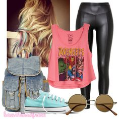 hippie-ish?, created by akosibeaselena on Polyvore love it all exsecpt the pants!