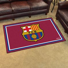 "FCBarcelona 4x6 Rug 44""x71"""