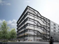 Heneghan Peng Architects taz headquarters . berlin #architecture