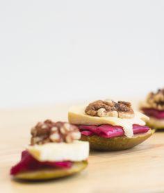 Kimchi & walnut bite