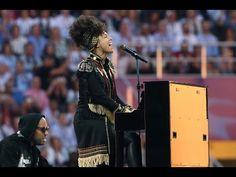 Alicia Keys Superwoman: Solo Piano only