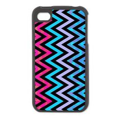 Blue Chevron, iPhone 4/4S Switch Case> iPhone Cases> Ornaart