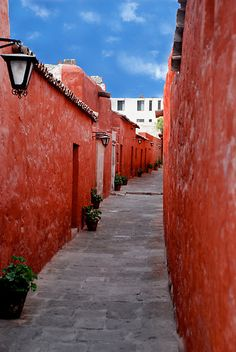 Old Convent in Arequipa, Peru.  Very cool place.