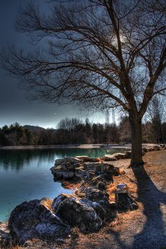 ~~View of the water of Veynes, Oze, Provence, Cote d'Azur, France by Le Lion 59~~
