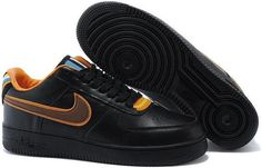 best service b6e79 89f3f Limit Givenchy Riccardo Tisci Nike R.T. Air Force 1 Rihanna Style Mens  Black Couples Low Shoes