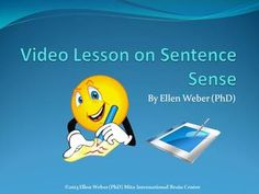 Using this video link and practice exercises students will apply lesson topic ideas in ways that make sentence sense  They will use this practice tool to write clear sentences that allow them to speak and feel heard on applicable topics from any lesson.