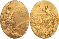 Berlin 1936,Alemania-Medalla de los Juegos Olímpicos