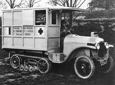 1923 Citroën-Kegresse-Hinstin P2 ambulance autochenille