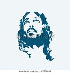 Rostro de Cristo Logo vectorial (AI) Descarga | seeklogo