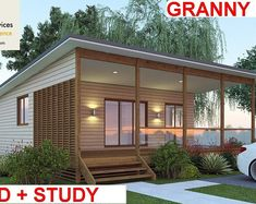 Granny pods for sale or 966 sq foot 2 Bedrooms 2 bathroom Granny Flat