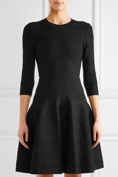 Alaïa - Jacquard-knit Mini Dress - Black - FR42