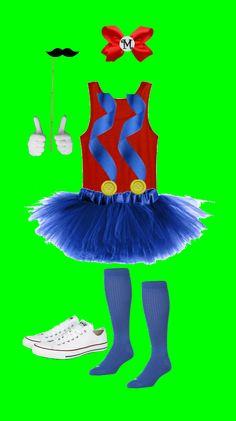 Easy Mario Costume for Girls