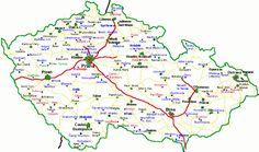 Zámky a hrady České republiky Czech Republic, Map, Location Map, Maps