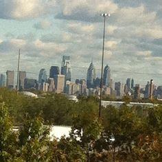 Philly skyline!