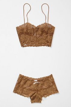 champagne colored lingerie