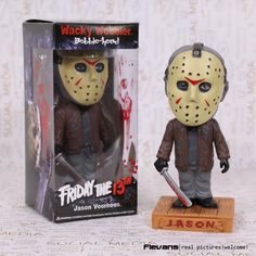 FUNKO Friday the 13th Jason Wacky Wobbler Bobble Head PVC Action Figure Collection Toy Doll 18cm hwd