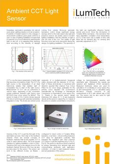 iLumTech_Electronic Design_Ambient CCT Light Sensor