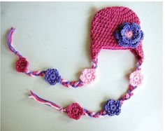 Baby hat baby girl summer hat warm crochet new by BabyBoomStudio