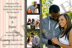 Wedding Save The Date Film Strip