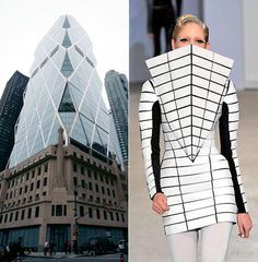 Finding Architecture in Fashion