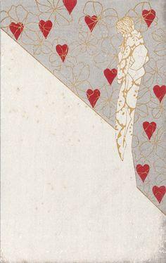 Woman against a Heart Background from the series Jojô ningyô: Wakakihi no kanashimi (Lyrical Dolls: The Sadness of Youth) | Museum of Fine Arts, Boston