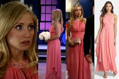 I'm a Soap Fan: Lulu Falconeri's Coral Dress at the Nurses' Ball - General Hospital, Season 52, Episode 29, 5/09/14 #Nordstrom #GH #GeneralHospital