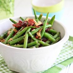 Green Beans, Olives  Sun Dried Tomato Salad