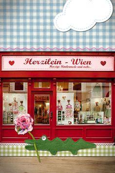 Herzilein Wien Geschäft im 1. Bezirk. Wollzeile 17
