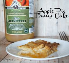 apple pie dump cake recipe
