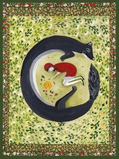 http://soniacavallini.com/ sonia cavallini chaperon rouge