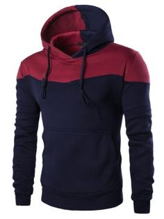 New Fashion Winter Hoodies Men Sudaderas Hombre Hip Hop Mens Hoodie Decorative Pocket Patchwork Sweatshirt Hoodie Sweatshirts, Moda Men, Fitness Man, Pull Sweat, Mode Costume, Le Polo, Vetement Fashion, Autumn Clothes, Men's Outerwear