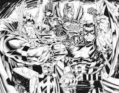 jim lee marvel - Buscar con Google
