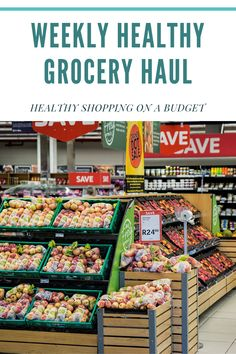 Healthy grocery shopping doesn't always have to be hard. I provide you with my weekly grocery haul and tips on how you can save money if you're on a budget. Healthy Grocery Shopping, Grocery Savings Tips, Grocery Haul, Healthy Groceries, Save Money On Groceries, Shopping Tips, Grocery Store, Benefits Of Organic Food, Health And Fitness Tips