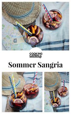 Sangria Rezept, Rezept Sangria, Früchte Sangria, Sangria recipe, classic sangria, fruit sangria, red wine sangria, summer drink, summertime, cocktail, summercocktail,